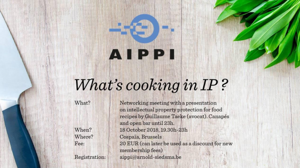 AIPPI - whats cooking in IP